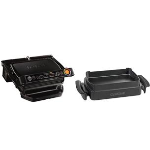 Elektriskais grils OptiGrill+ Snacking & Baking, Tefal GC714834