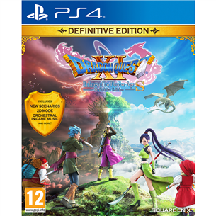 Игра Dragon Quest XI S: Echoes of an Elusive Age Definitive Edition для PlayStation 4 5021290088320
