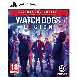 Spēle priekš PlayStation 5, Watch Dogs: Legion Resistance Edition PS5WDLEGION