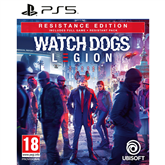 PS5 game Watch Dogs: Legion Resistance Edition