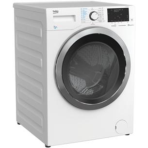 Veļas mazgājamā mašīna ar žāvētāju, Beko (7 kg / 4 kg)