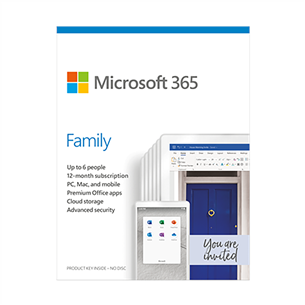Microsoft 365 Family (ENG) 6GQ-01150