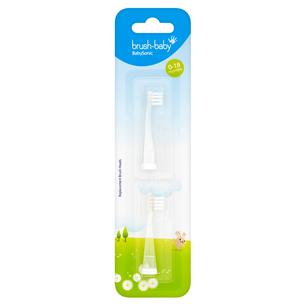 Запасные насадки для зубной щетки Babysonic 0-18 месяцев 331003