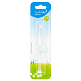 Replacement heads for BabySonic toothbrush / 0 - 18 months