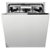 Интегрируемая посудомоечная машина Whirlpool (14 комплектов посуды)