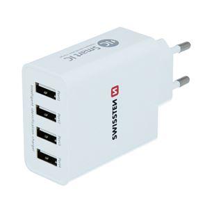 Lādētājs Smart IC USB, Swissten / 5A