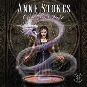 Kalendārs Anne Stokes 2021