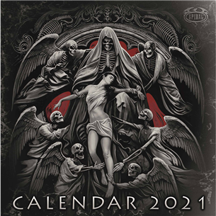 Kalendārs Spiral 2021