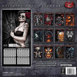 Calendar Spiral 2021
