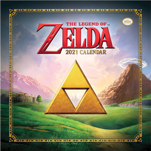 Calendar The Legend of Zelda 2021