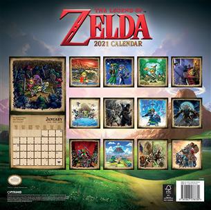 Календарь The Legend of Zelda 2021