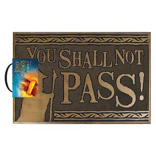 Дверной коврик Shall not Pass
