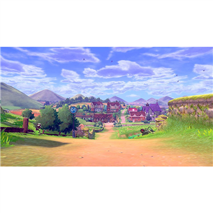 Switch game Pokemon Sword + Expansion Pass