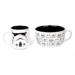 Krūze un bļodiņa Star Wars Stormtrooper