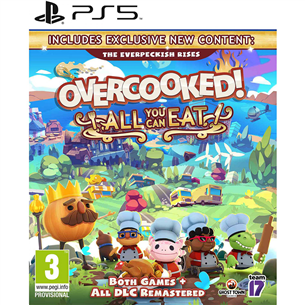 Spēle priekš PlayStation 5, Overcooked! All You Can Eat 5056208808851