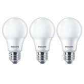 3 x LED lamp Philips E27