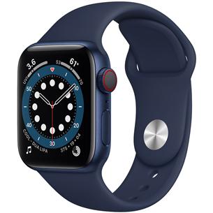 Viedpulkstenis Apple Watch Series 6 (40 mm) GPS + LTE M06Q3EL/A