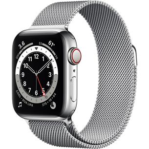 Viedpulkstenis Apple Watch Series 6 Steel (40 mm) GPS + LTE M06U3EL/A