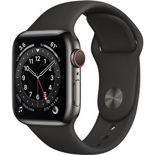 Viedpulkstenis Apple Watch Series 6 Steel (40 mm) GPS + LTE M06X3EL/A