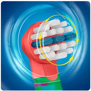 Elektriskā zobu birste Oral-B Star Wars + ceļojuma futrālis, Braun