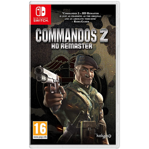 Switch game Commandos 2 - HD Remaster 4020628712556
