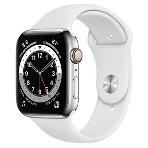 Viedpulkstenis Apple Watch Series 6 Steel (44 mm) GPS + LTE M09D3EL/A