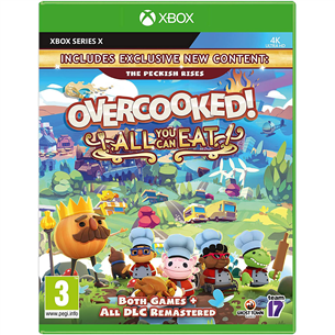 Spēle priekš Xbox Series X, Overcooked! All You Can Eat