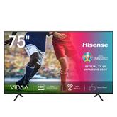 75 Ultra HD 4K LED LCD televizors, Hisense