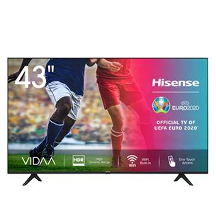 43'' Ultra HD 4K LED LCD televizors, Hisense 43A7100F