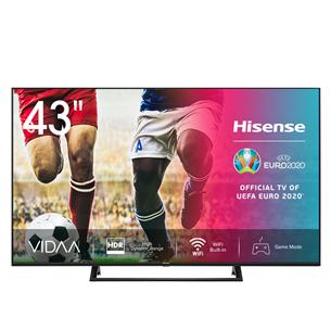 43'' Ultra HD 4K LED LCD televizors, Hisense 43A7300F