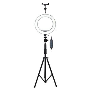Ring LED make-up lamp with tripod Vakoss LD-G320K