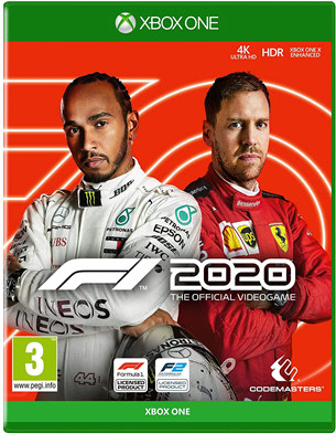 Xbox One game F1 2020