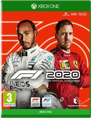 Игра F1 2020 для Xbox One