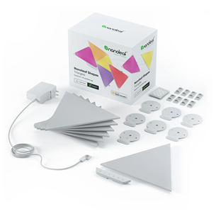Smart lights starter kit Nanoleaf Shapes Triangles (15 panels) NL47-6002TW-15PK