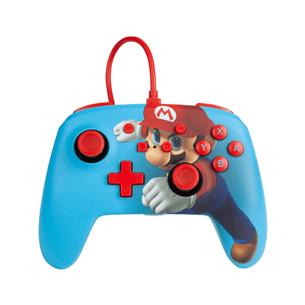 Nintendo Switch controller PowerA Mario Punch 617885024627