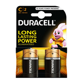 Baterijas Basic C (LR14), Duracell (2gb)