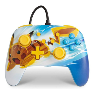 Nintendo Switch controller PowerA Pikachu Charge 617885024801