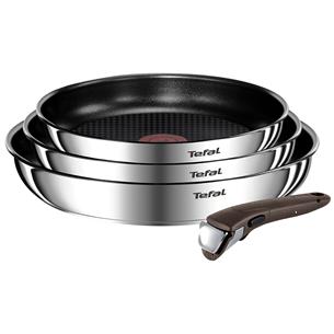 Комплект сковородок Tefal Ingenio Emotion 22/24/28 см + ручка