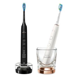 Комплект электрических зубных щеток с приложением Philips Sonic DiamondClean 9000