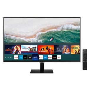 32'' Ultra HD LED VA Smart USB-C monitors, Samsung LS32AM700UUXEN