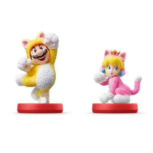 Amiibo Cat Mario and Peach