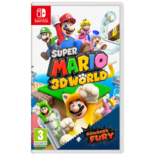 Switch game Super Mario 3D World + Bowser's Fury