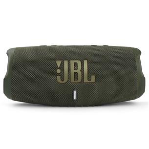 Wireless portable speaker JBL Charge 5 JBLCHARGE5GRN