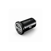 Car charger Metal Black, Swissten (4.8A)