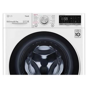 Veļas mazgājamā mašīna ar žāvētāju, LG (8,5 kg / 5 kg)