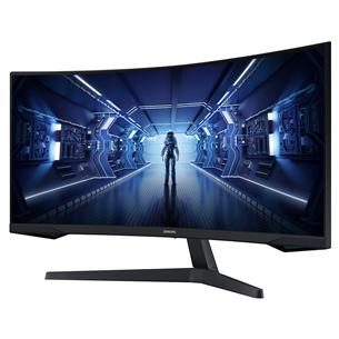 34'' curved QHD LED VA monitor Samsung Odyssey G5 LC34G55TWWRXEN