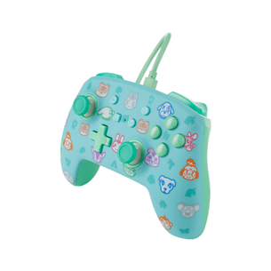 Пульт PowerA Enhanced Animal Crossing для Nintendo Switch
