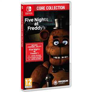 Игра Five Nihts at Fredy's: Core Collection для Nintendo Switch