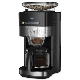 Капельная кофеварка с кофемолкой Krups Grind & Brew KM832810