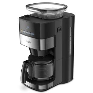 Капельная кофеварка с кофемолкой Krups Grind & Brew